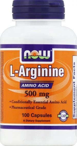 Now Arginine 500 Mg