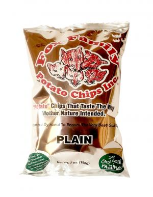 Fox Plain Potato Chips