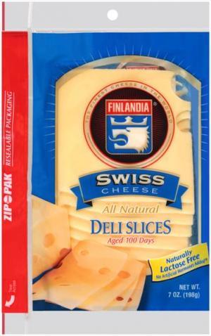 Finlandia Sliced Swiss Cheese