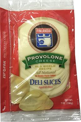 Finlandia Sliced Provolone Cheese