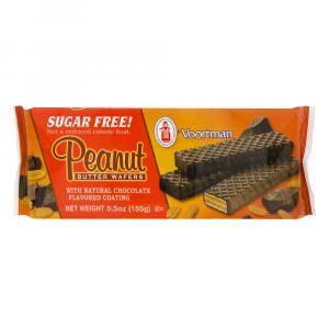 Voortman Sugar Free Fudge Dipped Peanut Butter Wafers