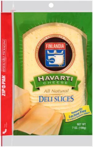Finlandia Pre-sliced Imported Havarti Cheese