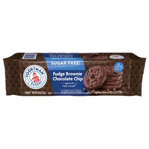 Voortman Sugar Free Fudge Chocolate Chip Cookies