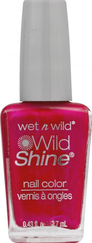 Wet n Wild Shine Nail Color - Frosted Fuchsia 426A