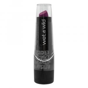 Wet N Wild Silk Finish Lipstick- Fuchsia Blue Purple