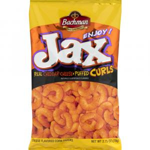 Bachman Jax Cheddar Cheese Puffed Curls