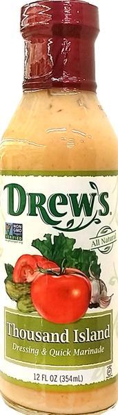 Drew's Organics Thousand Island Dressing & Quick Marinade