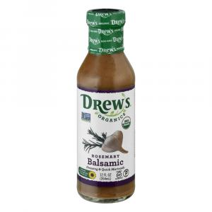 Drew's Organics Rosemary Balsamic Dressing & Quick Marinade