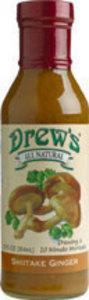 Drew's Organics Shiitake Ginger Dressing & Quick Marinade