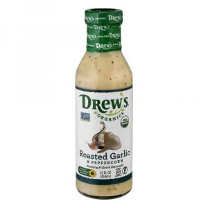 Drew's Organics Roasted Garlic & Peppercorn Dressing & Quick