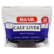 Sliced Calf Liver