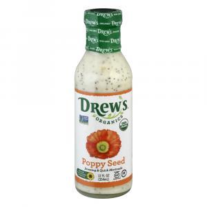 Drew's Organics Poppy Seed Dressing & Quick Marinade