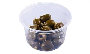 Taste of Inspirations Italian Aglio Pitted Olives