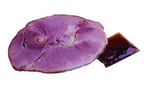 Smithfield Ham Steak Bone-in Brown Sugar