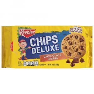 Keebler Chips Deluxe Chocolate Chunk Cookies
