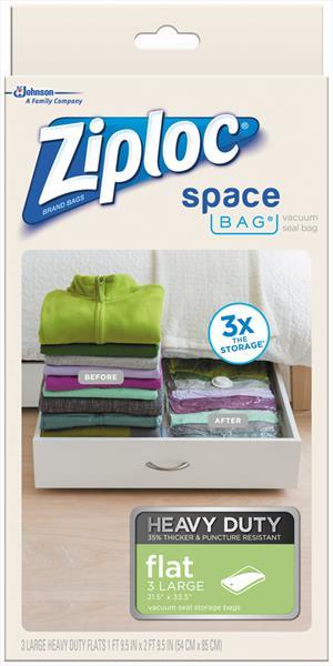Ziploc Space Bag Vacuum Seal Bag Large