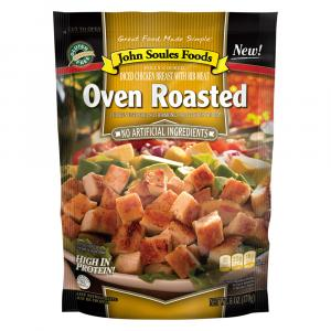 John Soules Oven Roasted Diced Chicken Breast