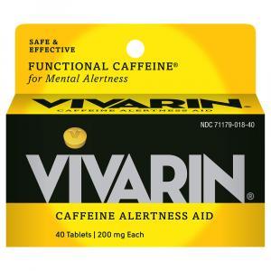 Vivarin Caffeine Alertness Aid Tablets 200 Mg
