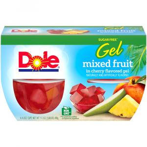 Dole Mixed Fruit In Sugar Free Cherry Gel