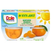 Dole Mandarin Oranges Bowl in 100% Juice