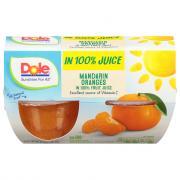 Dole Mandarin Oranges Bowl in 100% Juice