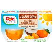 Dole Pineapple Mandarin Orange in Coconut Water