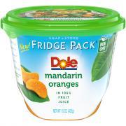 Dole Fridge Pack Mandarin Oranges in Fruit Juice