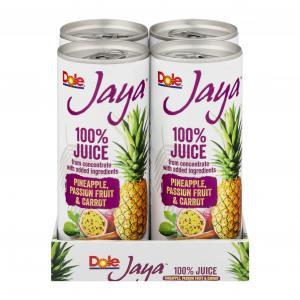Dole Jaya Pineapple, Passionfruit & Carrot Juice