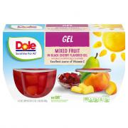 Dole Black Cherry Mixed Fruit Gelatin