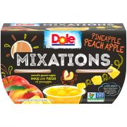 Dole Pineapple Peach Apple Mixations