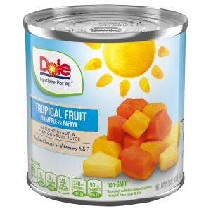 Dole Tropical Mixed Fruit Salad