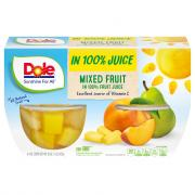Dole Mixed Fruit Bowls in 100% Juice
