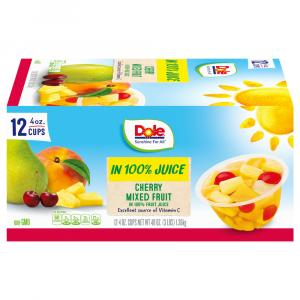 Dole Cherry Mixed Fruit Cups