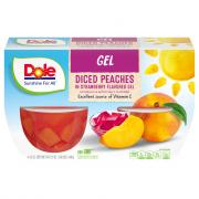 Dole Fruit n' Gel Peach & Strawberries