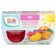 Dole Fruit n' Gel Peach & Strawberries