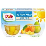 Dole No Sugar Added Mixed Fruit