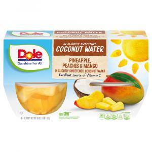 Dole Pineapple Peach Mango in Coconut Water