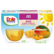 Dole Gel Mango in Mango Gel Cups
