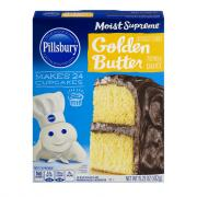 Pillsbury Moist Supreme Golden Butter Cake Mix
