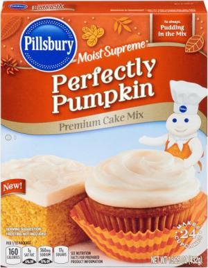 Pillsbury Perfectly Pumpkin Cake Mix