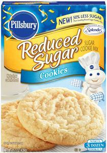 Pillsbury Reduced Sugar-sugar Cookie Mix