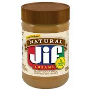 Jif Natural Creamy Peanut Butter Spread