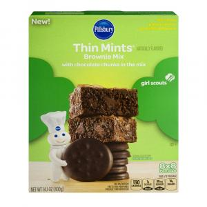 Pillsbury Thin Mint Brownie Mix