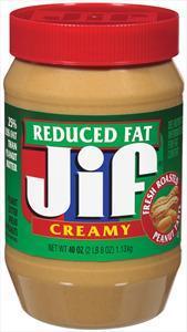 Jif Fresh Roasted Creamy Peanut Butter 25% Less Fat