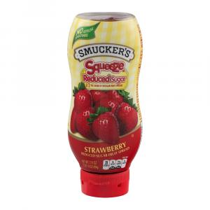 Smucker's Reduced Sugar Squeeze-able Strawberry Jam