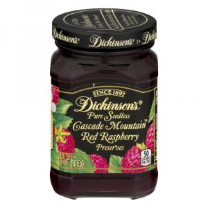Dickinson's Seedless Red Raspberry Preserves
