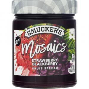 Smuckers Mosaics Strawberry Blackberry Fruit Spread