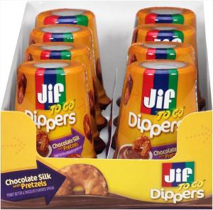 Jif To Go Dippers Chocolate Peanut Butter