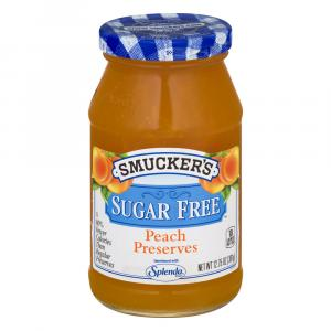 Smucker's Sugar Free Peach Preserves
