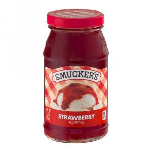 Smucker's Strawberry Topping